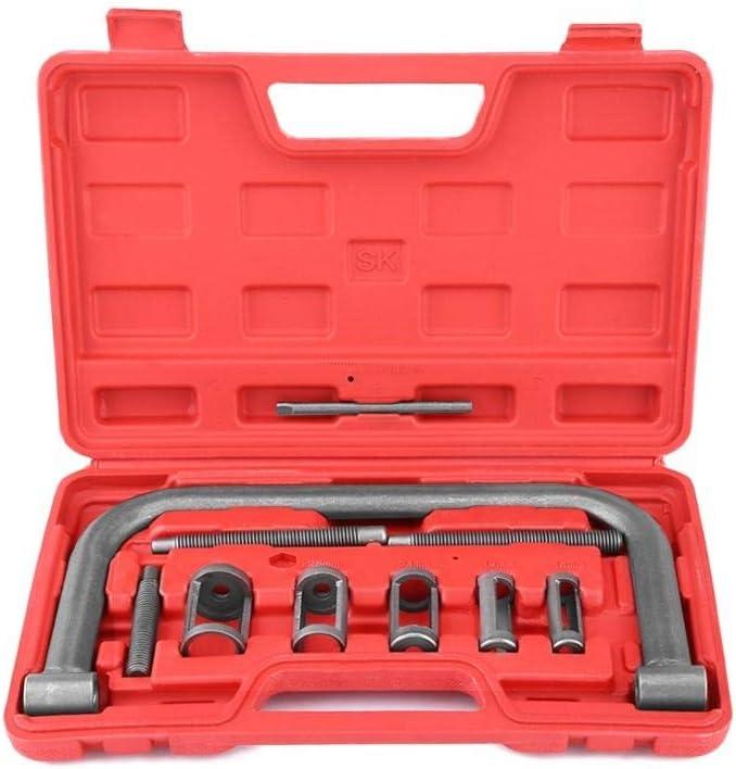 HGY 10 Piezas de la válvula de un compresor de resortes Kit de eliminación de Herramienta de instalación Compatible con los Motores de automóviles Van Motocicleta