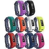 10 pack Garmin Vivosmart Hr Case Cover Benestellar Silicone Band Case Cover For Garmin Vivosmart Hr 10 pack