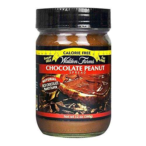 Walden Farms Chocolate Peanut Spread 340g (Pack of 2)