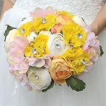 Wanglele Hochzeit Blumen Blumenstrausse Hochzeit Seide 8 66 Ca 22