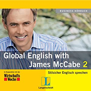 Langenscheidt Global English with James McCabe 2 Hörbuch