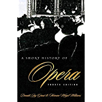 A Short History of Opera book cover