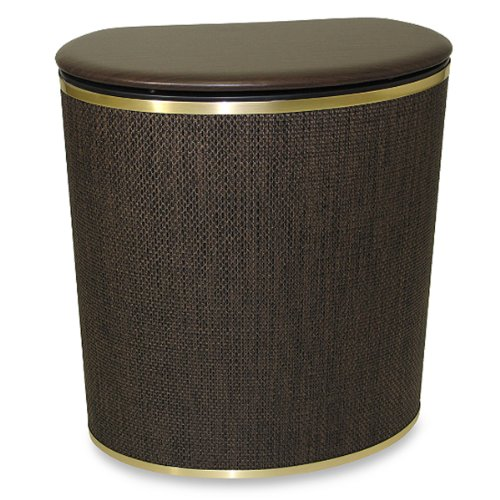 The Bronze Bow Front Hamper by AytraHome