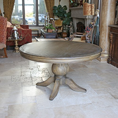 Kovet Hospitality - Florence Reclaimed Wood Round Dining Table, 60