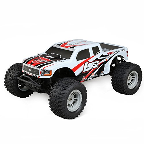- Losi 1/10 Tenacity 4WD RC Monster Truck Brushless RTR with AVC, White