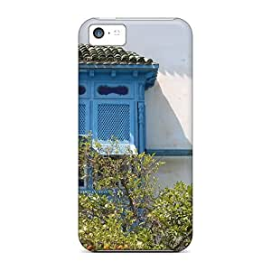For AVh40292lzJE A Tunisian House Window Protective Cases Covers Skin/iphone 5c Cases Covers