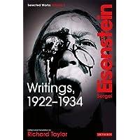 Writings, 1922-1934: v. 1: Sergei Eisenstein Selected Works (Selected Works 1)