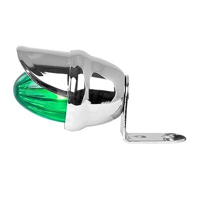 GG Grand General 82773 Green Marker Light (Clear Single Mini Visor): Automotive