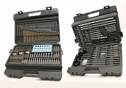 204 Pcs Combination Drill Bit Set Drilling Power Tools Elect