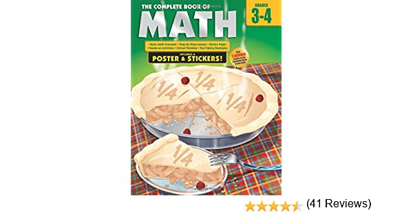 Counting Number worksheets geometry worksheets year 9 : The Complete Book of Math, Grades 3-4: School Specialty Publishing ...