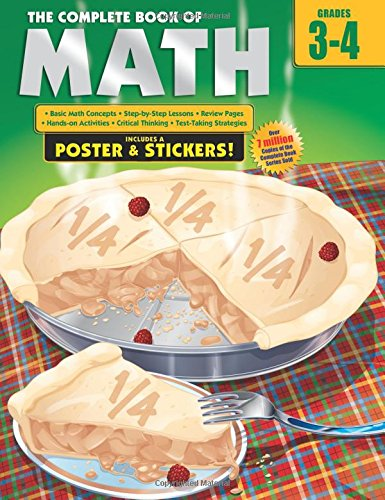 The Complete Book of Math, Grades 3-4: School Specialty Publishing ...
