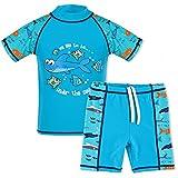 TFJH E Kids Boys Swimsuit UPF 50+ UV Sun Protective