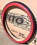 1 Pair! Duro 26' x 2.125' BRICK RED WALL TIRE(X2), for Beach Cruiser, BMX, & Mountain Bikes Bicycles
