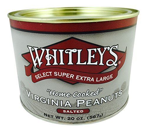 Whitley's Salted Virginia Peanuts 20 (Hand Cooked Virginia Peanuts)
