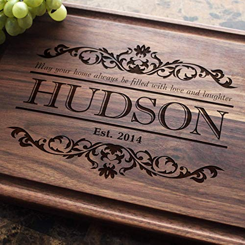 Housewarming Personalized Engraved Cutting Board Wedding Gift Anniversary Gifts Housewarming Gift Birthday Gift Corporate Gift Award Promotion