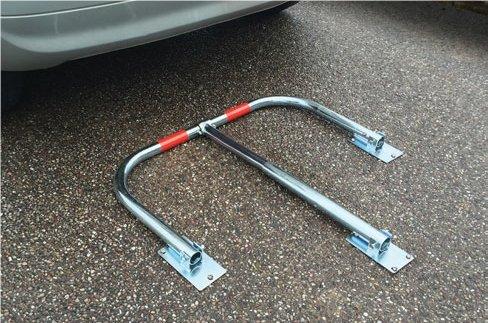 Streetwize 3/pierna aparcamiento barrera de seguridad