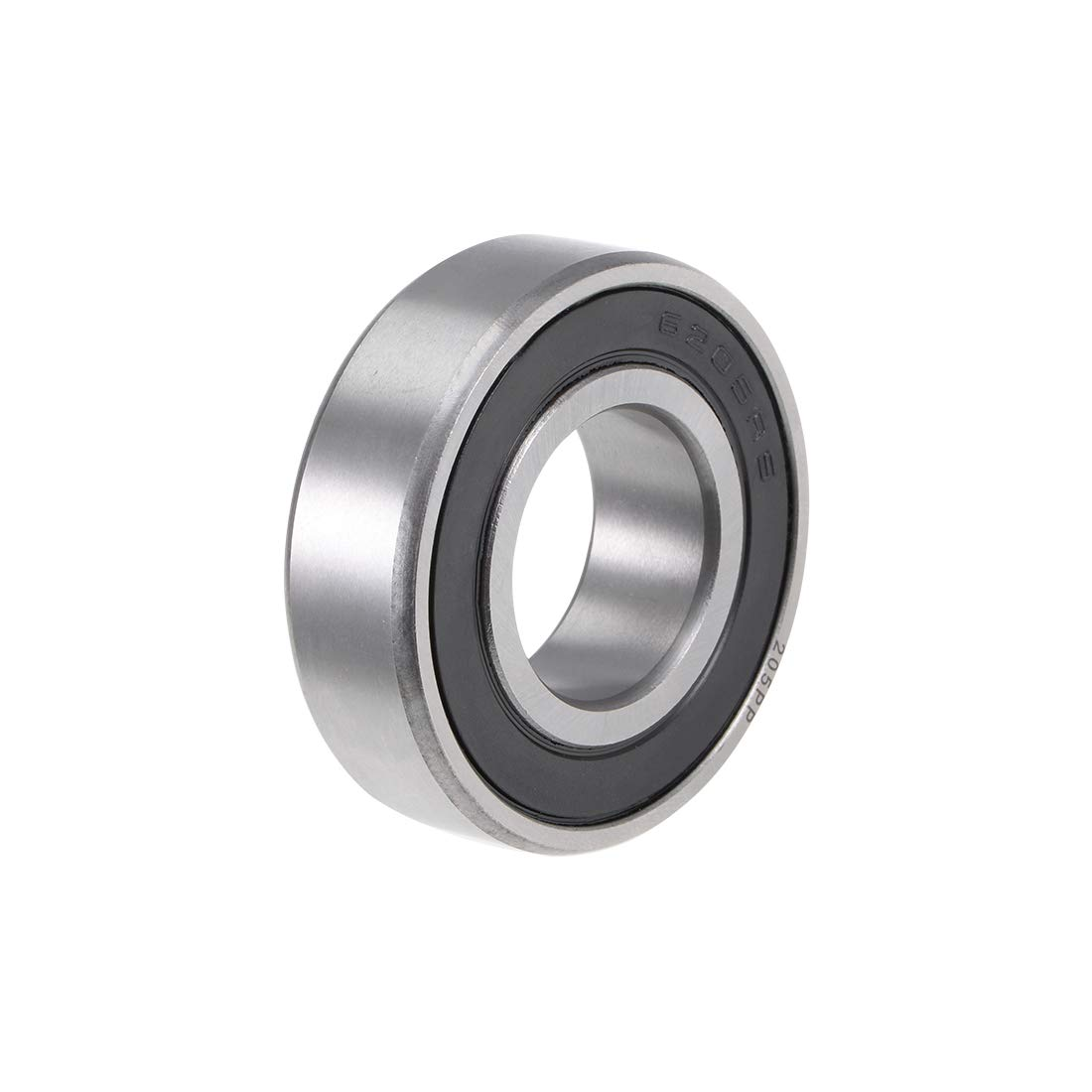 uxcell 6005-2RS Deep Groove Ball Bearing 25x47x12mm Double Sealed Chrome Steel Bearings 1-Pack