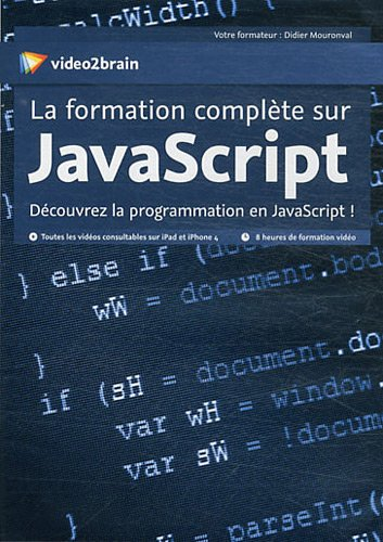 PROGRAMMATION JAVASCRIPT EBOOK