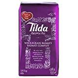 Tilda Legendary Rice Wholegrain Basmati Gluten Free 64 Oz. Pk Of 3.