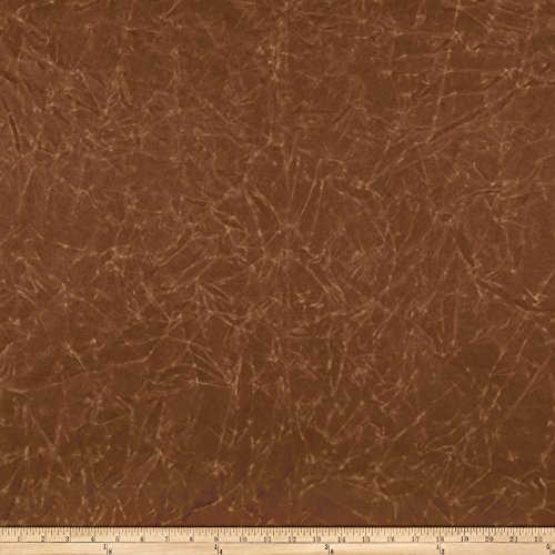 Carr Textile 9.4 oz Waxed Canvas Brushed Brown Fabric by The Yard,