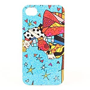 HP DFDancing Pattern Hard Case for iPhone 4 and 4S