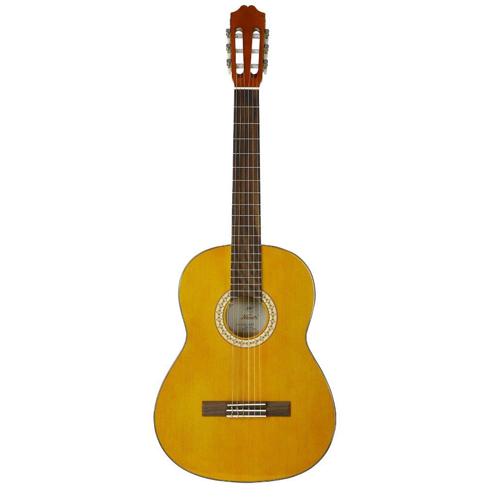 KAPOK 6 String AZ-C28 39 Inch Classical Guitar Natural, Spain Yellow, Full 4/4 SY