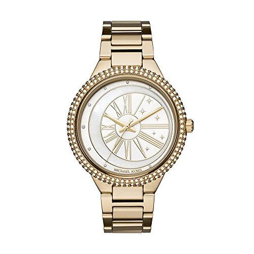 Michael Kors Women's 'Taryn' Quartz Stainless Steel Casual Watch, Color:Gold-Toned (Model: MK6550)