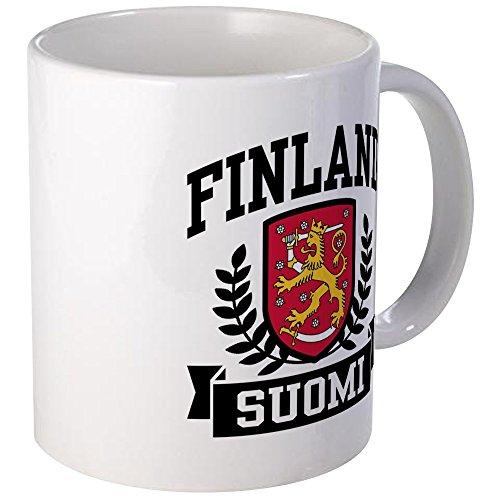 (CafePress Finland Suomi Mug Unique Coffee Mug, Coffee Cup)