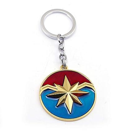 Marvel Avengers Llavero Marvel capitán Importado Llavero ...