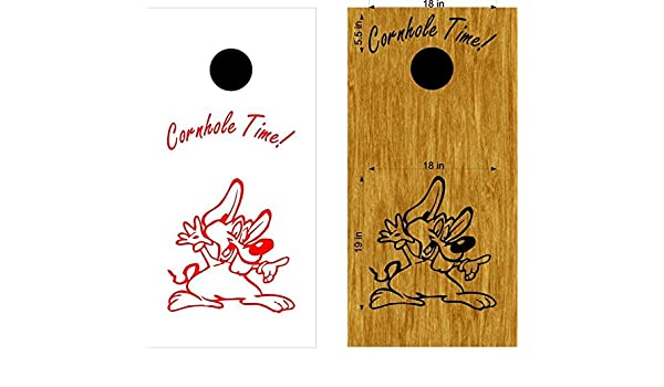 StickerChef Mouse Cornhole Decals Tailgating Camping Games Do It Yourself Designs Custom Corn Toss