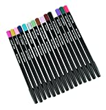 Eyeliner & Lip Liners 15 Color Pencil set