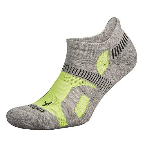 Aloe//Fog Balega Hidden Contour No Show Running Socks