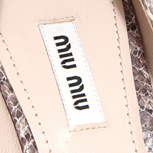 Decollete Donna Miu Women Marrone 86287 Vit Scarpa Shoes grigio Hpzq4