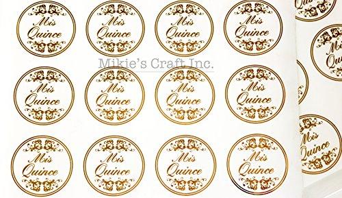 Clear Party Favors Stickers 48 pcs/pkg: 1.25
