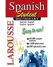 Larousse Student Dictionary Spanish-English/English-Spanish