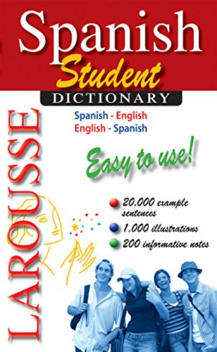 Larousse Student Dictionary Spanish-English/English-Spanish