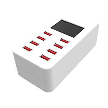 Socialism Adaptador de Cargador de teléfono de 8 Puertos USB ...