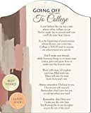 Rikki Knight Going Off to College Soft Color Paint Touching 8x10 Poem Plaque with Arch Top