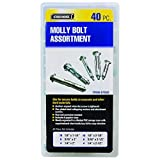 Storehouse 67550 Molly Bolt Assortment, 40 Piece