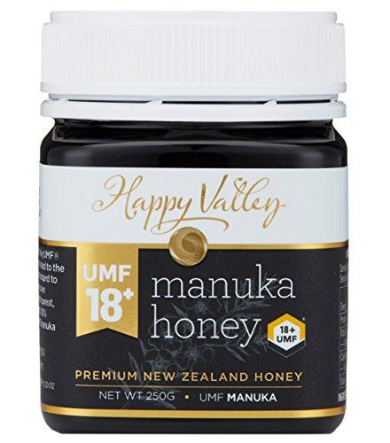Happy Valley UMF 18+ Manuka Honing (MGO 696+), 250g (8.8oz)