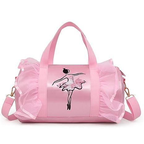 Amazon.com: SHZONS Ballet Bags, Childrens Dance Bag ...