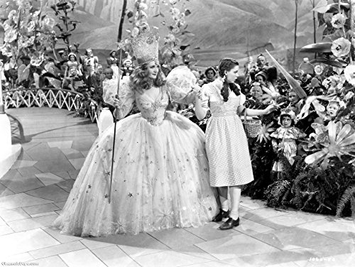 [Glinda the Good Witch Wizard of Oz Billie Burke Judy Garland 8x10 Glossy Photo] (Good Witch Of Wizard Of Oz)