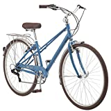Kulana Kulana Tangier Adult Hybrid Commuter Bike 700c Wheel Size, Light Blue, Denim,
