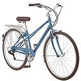Kulana Kulana Tangier Adult Hybrid Commuter Bike 700c Wheel Size, Light Blue, Denim