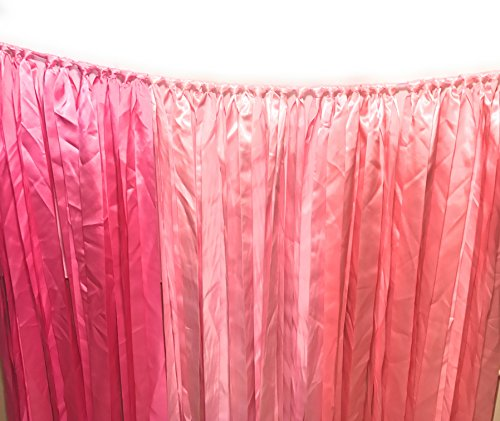 Chicky Chicky Bling Bling Backdrop Ribbon Curtain Ribbon Bunting Photo - Creating Party A A Booth For Photo