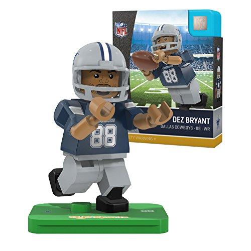 NFL Dallas Cowboys Gen4 Limited Edition Dez Bryant Mini Figure, Small, White