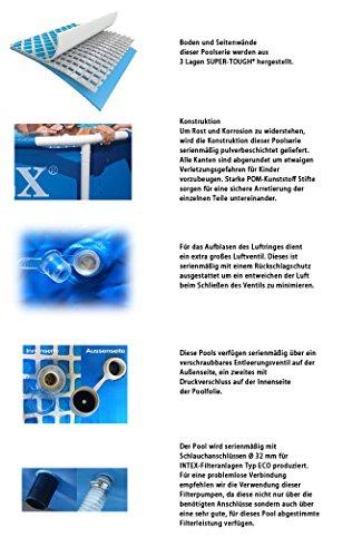 Premium-Pool-457×122-cm-Schwimmbad-Metallrahmen
