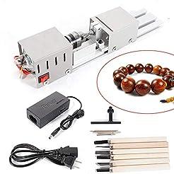 BACHIN Mini Lathe Beads Polisher Machine...