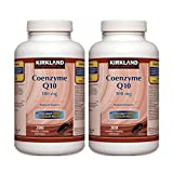 2 x Kirkland Signature™ Coenzyme Q10 Natural Source 100 mg, 300 Softgels