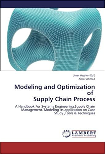 Amazon com: Modeling and Optimization of Supply Chain
